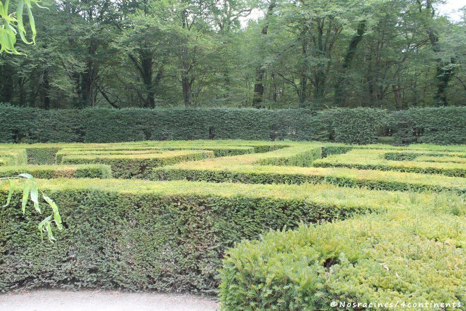 Le labyrinthe italien, souhaité par Catherine de Médicis