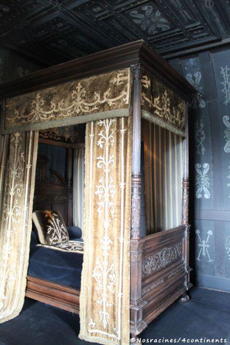 Les allures funestes de la chambre de Louise de Lorraine