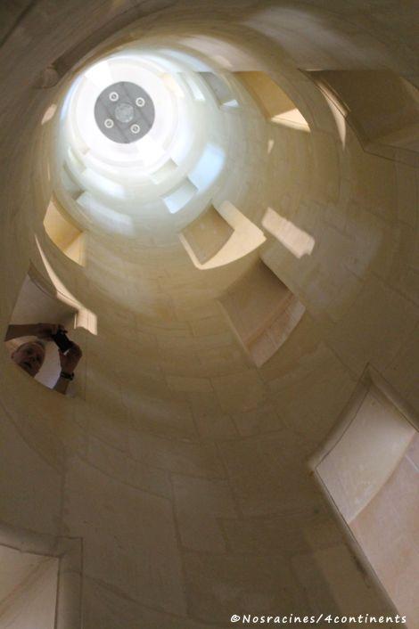 Le noyau de l'escalier