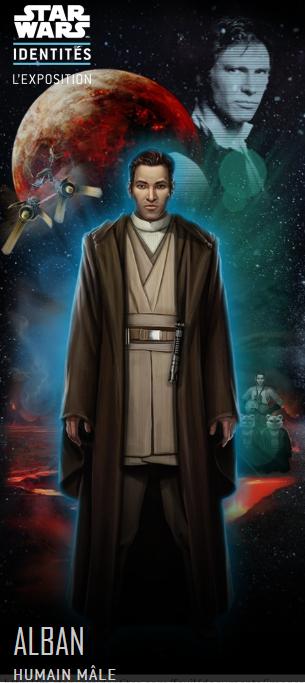 Le héros de notre fils aîné, créé lors de l'exposition Star Wars Identités