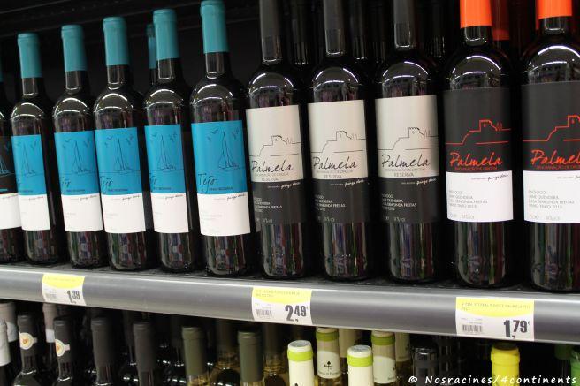 Du vin au même prix que l'eau