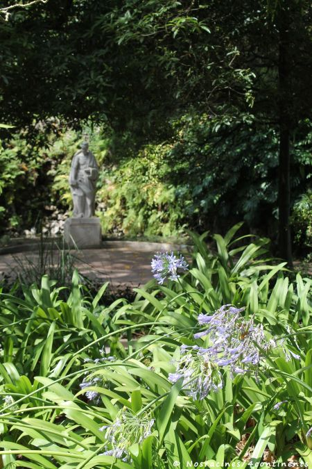 Le jardin da Estrela, havre de fraîcheur aux parfums fleuris