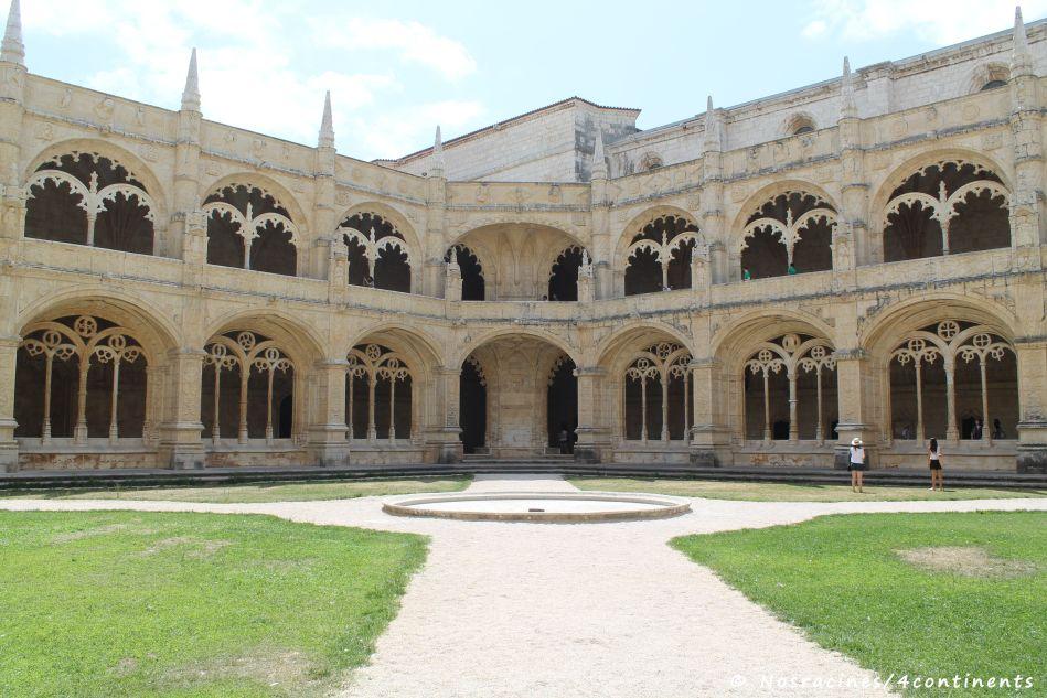 Le magnifique cloître du Mosteiro dos Jeronimos