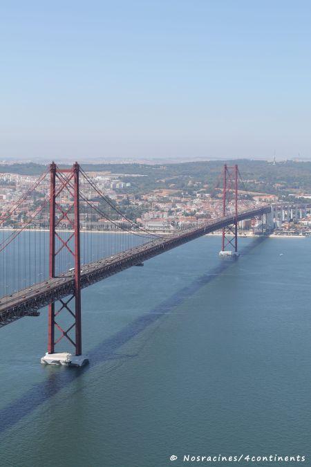 Vue sur le Ponte 25 de Abril