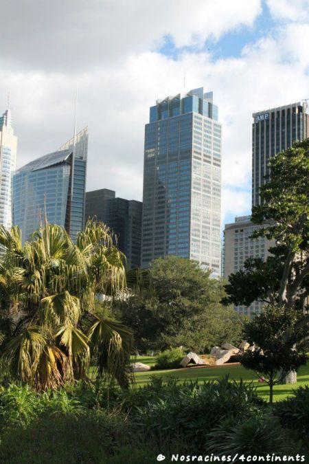 Le Royal Botanic Gardens, à Sydney