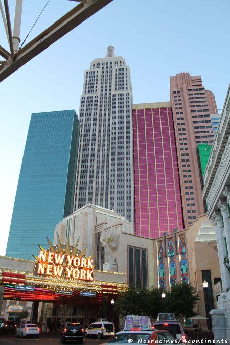 Le New York - New York, un endroit très animé