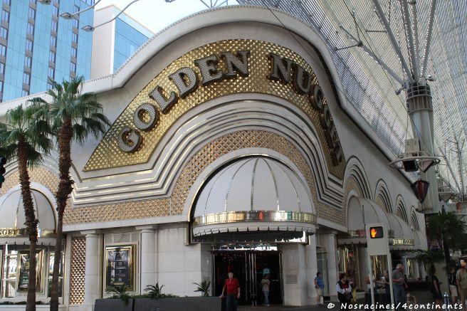 La façade extérieure du Golden Nugget