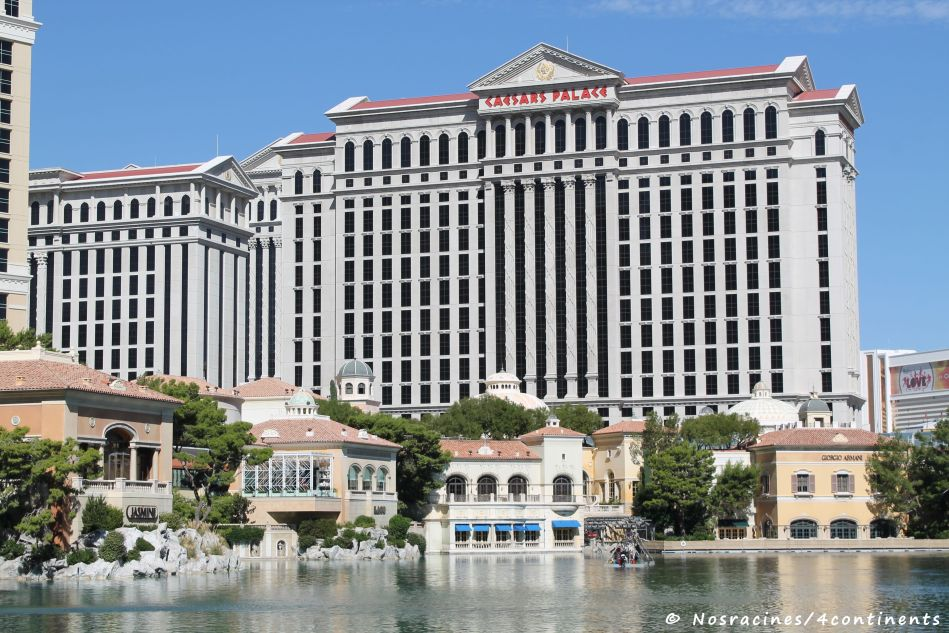 Le Caesars Palace, un hôtel qui évoque la Rome antique