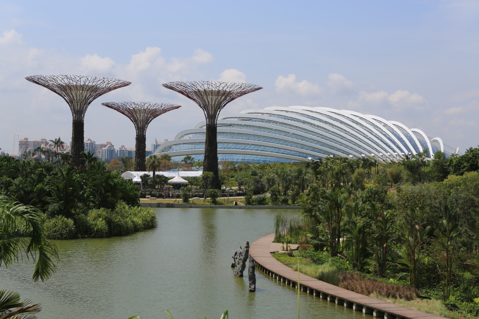 Flower Dome, Gardens by the Bay. Crédit photo : Shiny Things sur Flickr