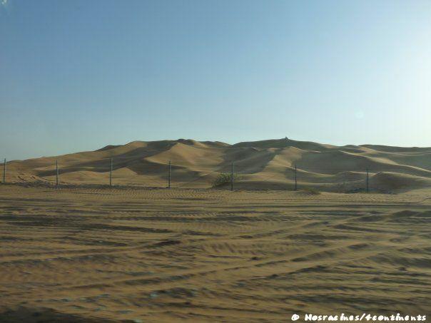 Les paysages désertiques, en route vers Hatta