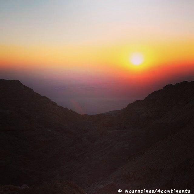 JebelHafeet_sunset