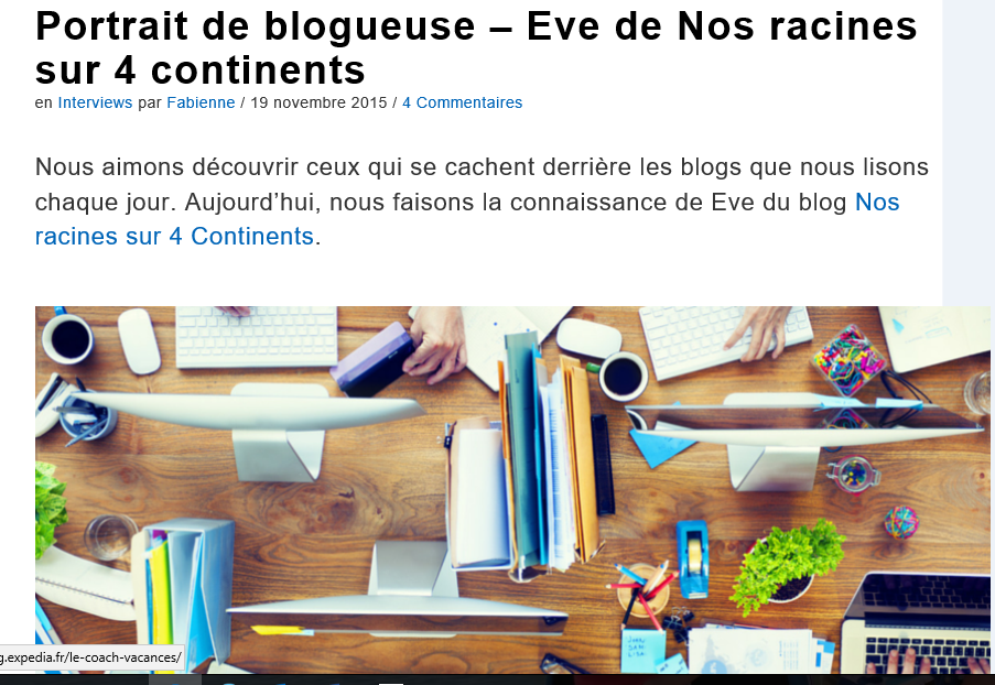 Blogsdevoyage