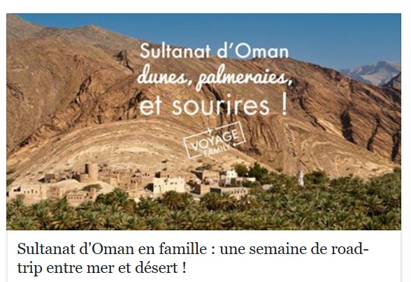 Voyage Family_Oman