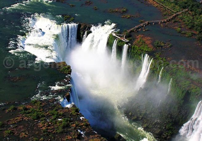 Chutes d'Iguazu - Vue aérienne